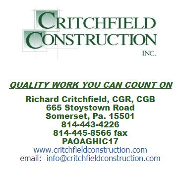 Critchfield Construction, Inc.