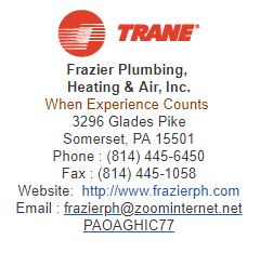 Frazier Plumbing, Heating & Air, Inc.