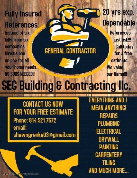SEG Building & Contracting