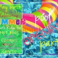 Pool Opening Party